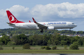 TC-JZF - Turkish Airlines Boeing 737-8 MAX