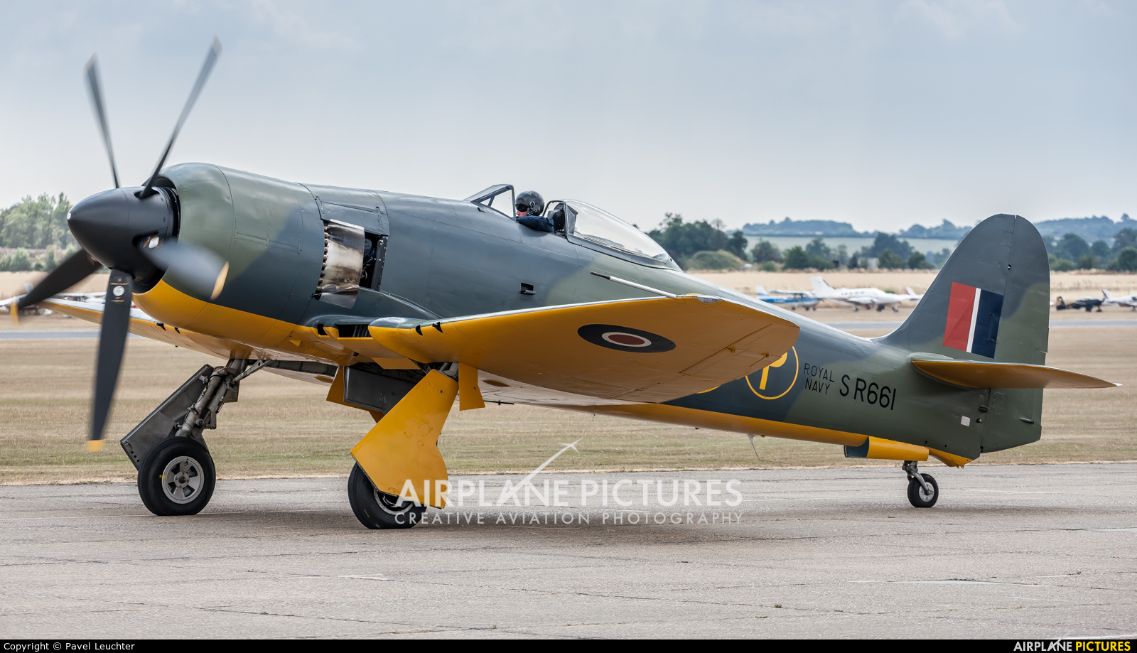 Private G-CBEL aircraft at Duxford