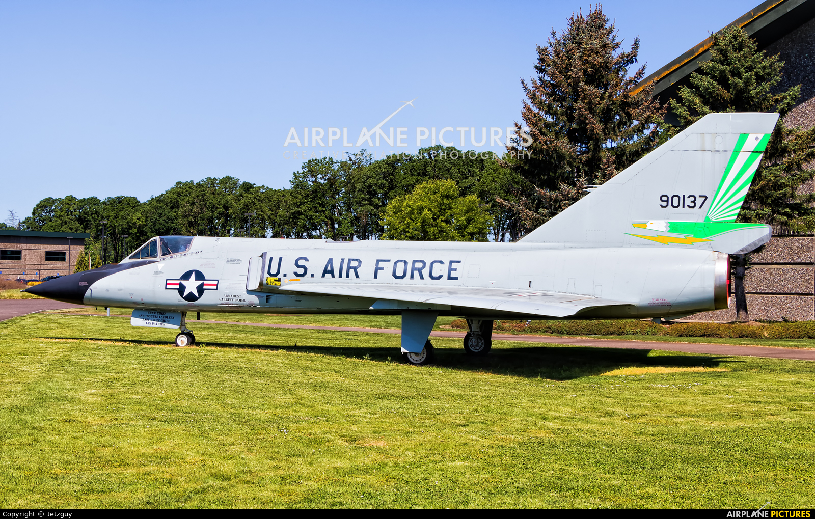 USA - Air Force 59-0137 aircraft at McMinnville - Evergreen Aviation & Space Museum