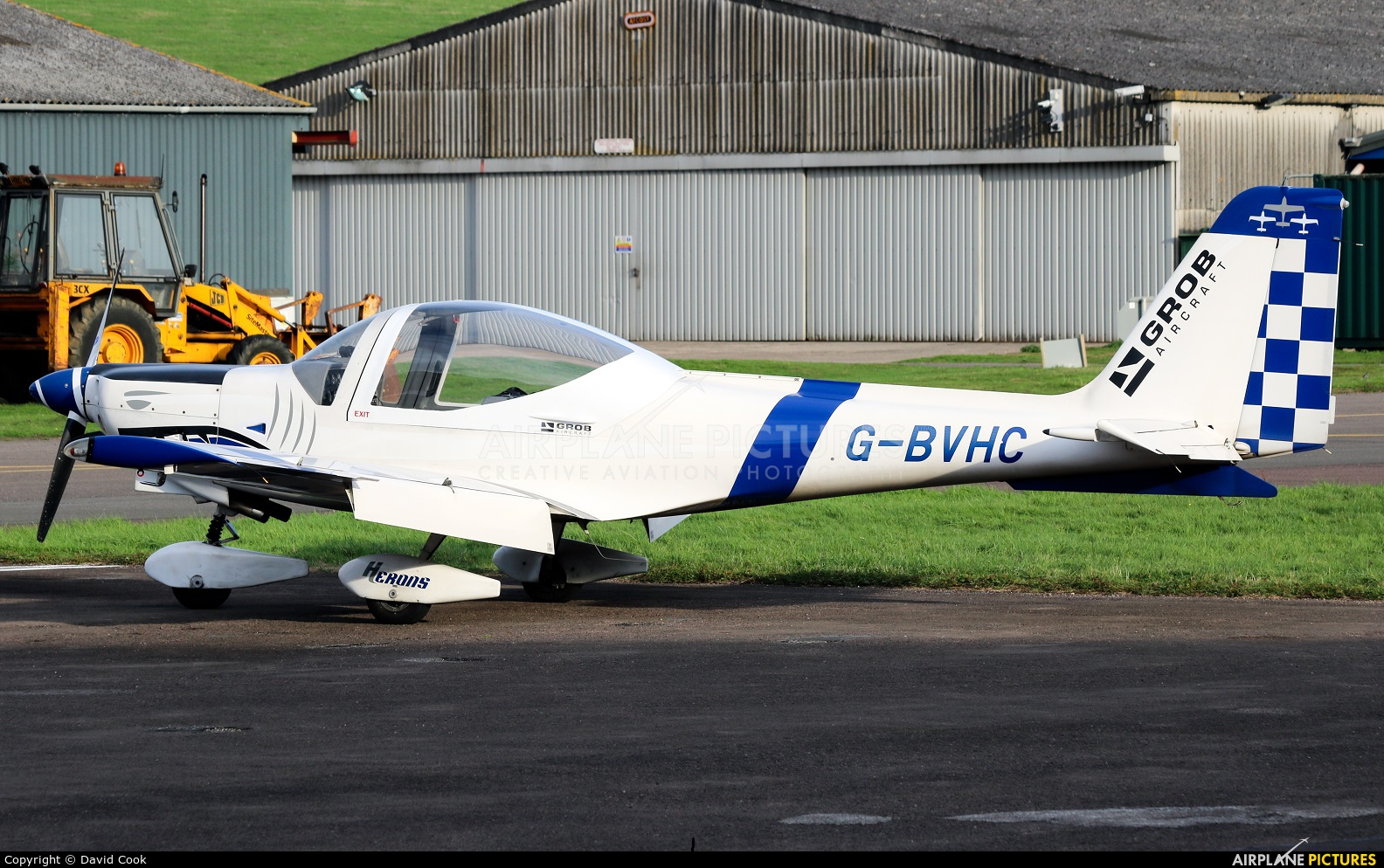 Private G-BVHC aircraft at Gloucestershire (Staverton)