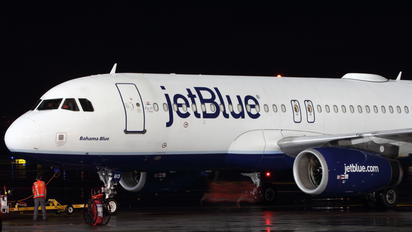 N613JB - JetBlue Airways Airbus A320