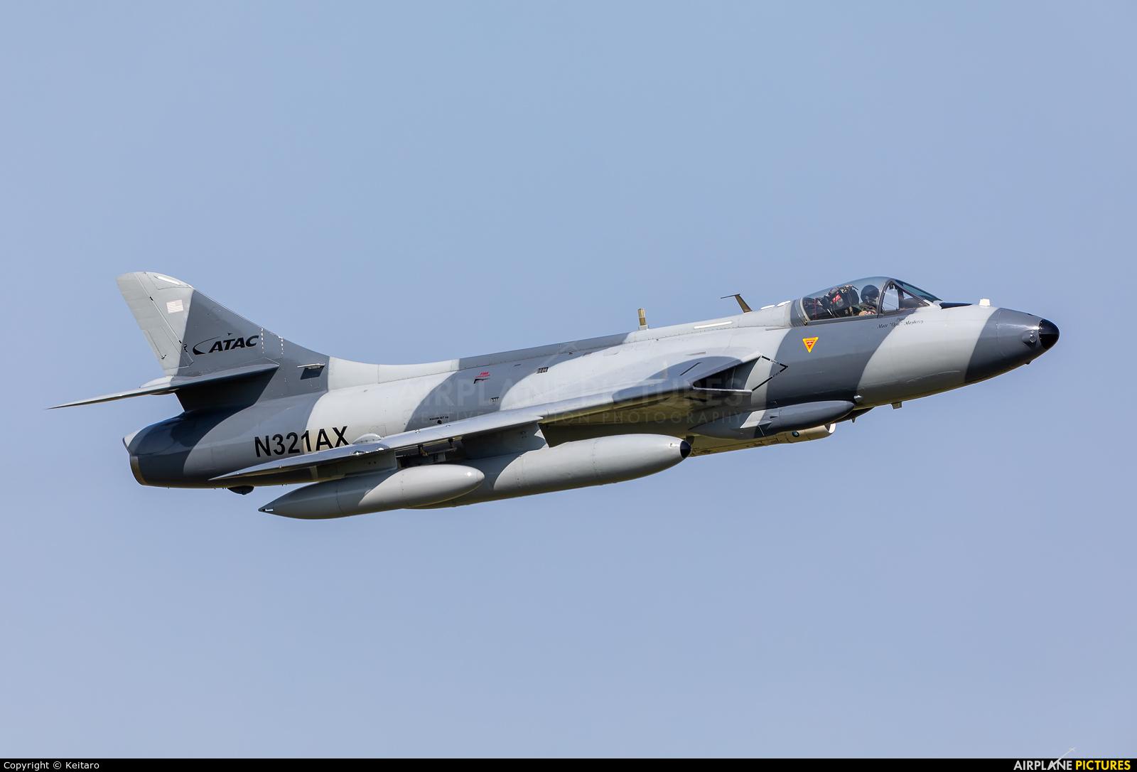 Airborne Tactical Advantage Company (ATAC) N321AX aircraft at Atsugi AB