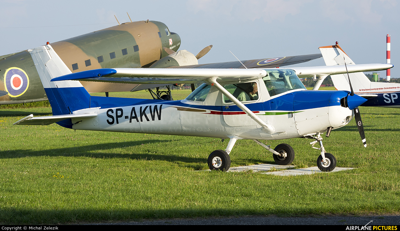 Private SP-AKW aircraft at Czestochowa - Rudniki