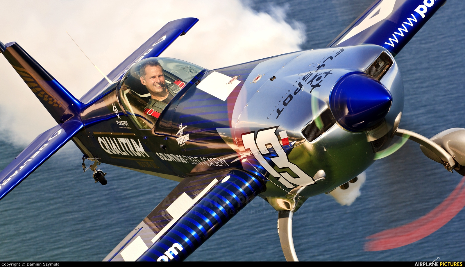 Maciej Pospieszyński - Aerobatics SP-YOO aircraft at In Flight - Poland