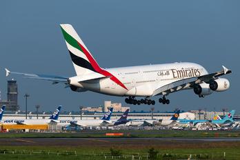 A6-EDO - Emirates Airlines Airbus A380
