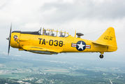 N66TY - Private North American Harvard/Texan (AT-6, 16, SNJ series) aircraft