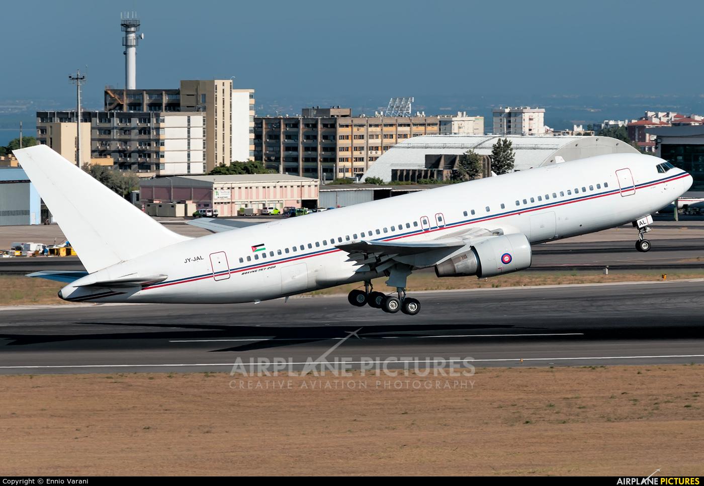 Jordan Aviation JY-JAL aircraft at Lisbon