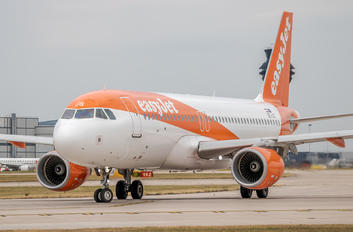 OE-IJS - easyJet Airbus A320