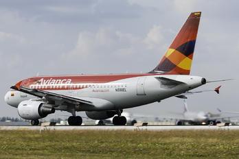 N590EL - Avianca Airbus A318
