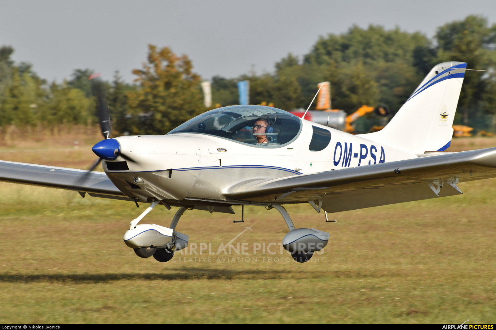Private OM-PSA aircraft at Nové Zámky