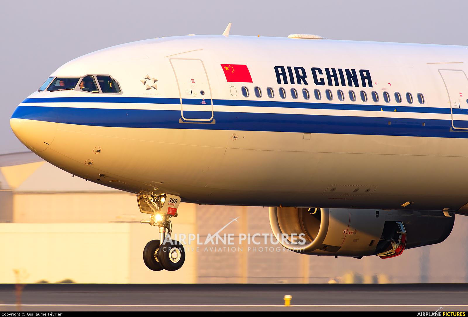 Air China B-8386 aircraft at Paris - Charles de Gaulle