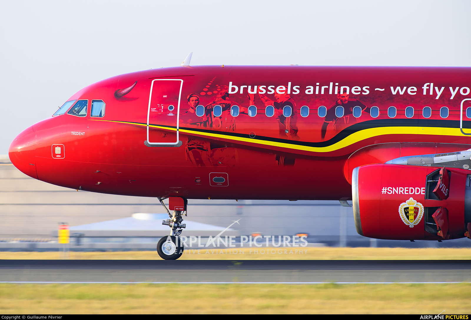 Brussels Airlines OO-SNA aircraft at Paris - Charles de Gaulle
