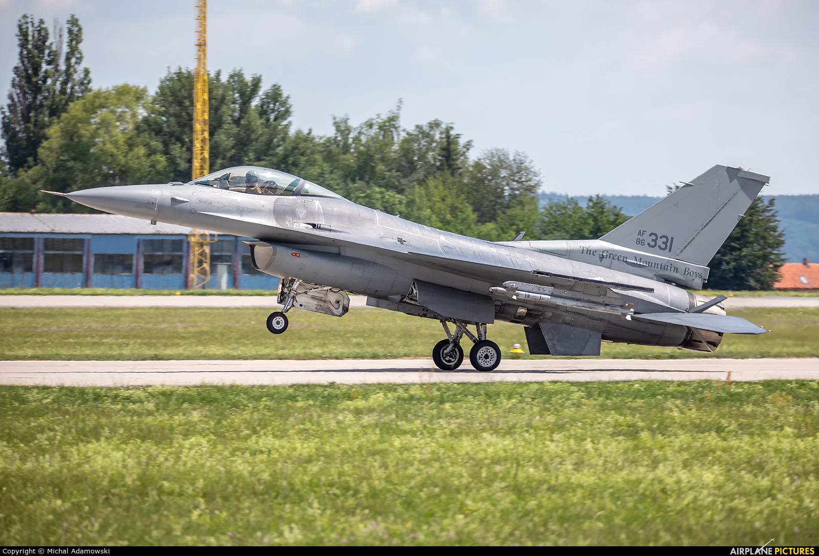 USA - Air National Guard 86-0331 aircraft at Čáslav
