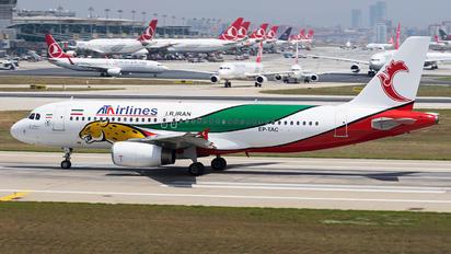EP-TAC - ATA Airlines Iran Airbus A320