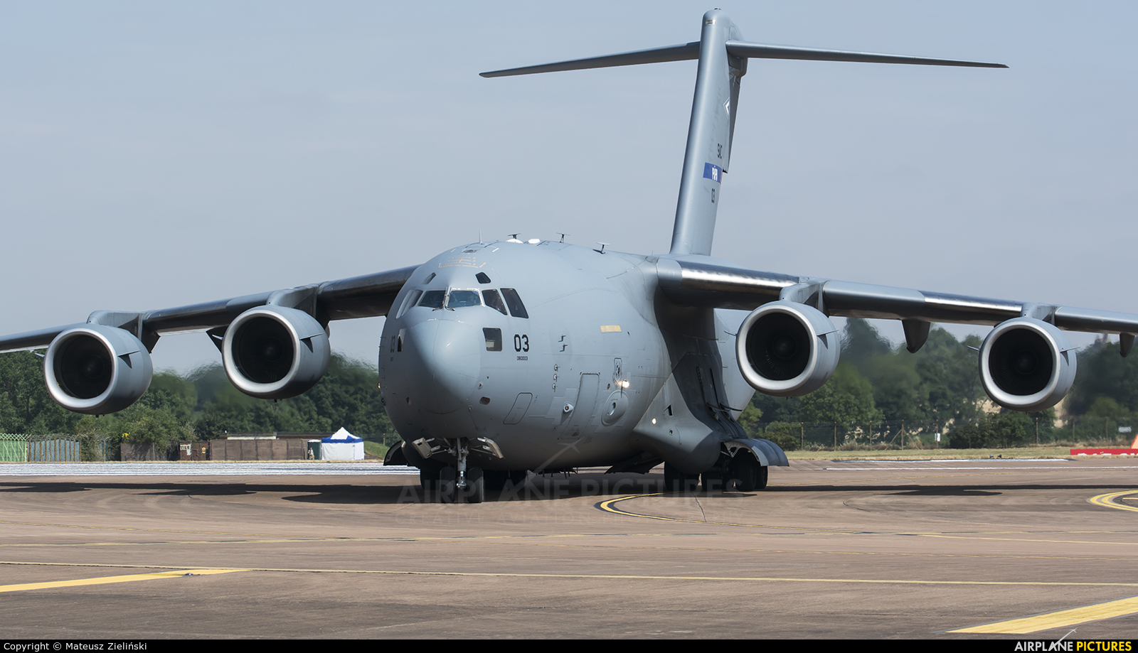 Strategic Airlift Capability NATO 08-0003 aircraft at Fairford