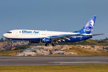 YR-BMP - Blue Air Boeing 737-800