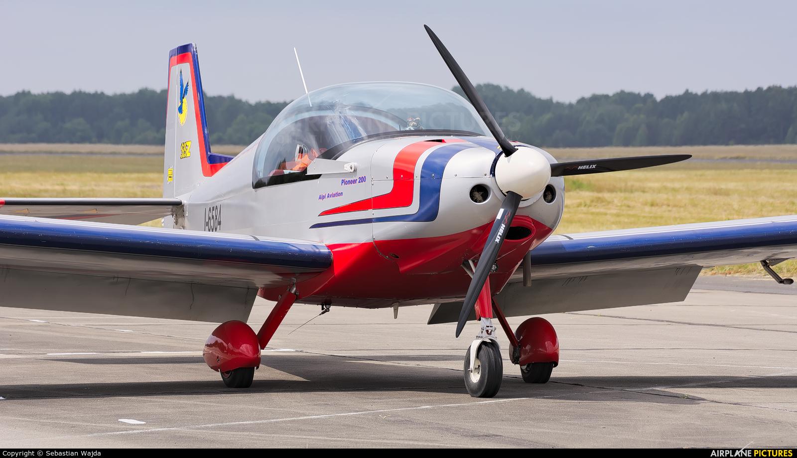 Private I-6584 aircraft at Koszalin-Zegrze Pomorskie