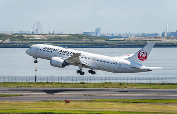 JA839J - JAL - Japan Airlines Boeing 787-8 Dreamliner