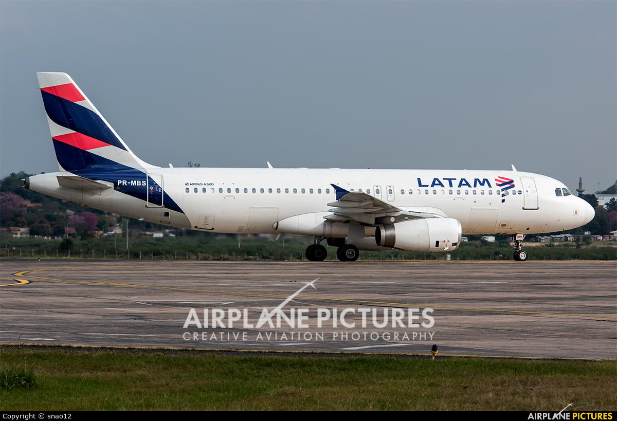 TAM PR-MBS aircraft at Asuncion - Silvio Pettirossi Intl