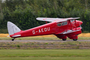 G-AEDU - Private de Havilland DH. 90 Dragonfly
