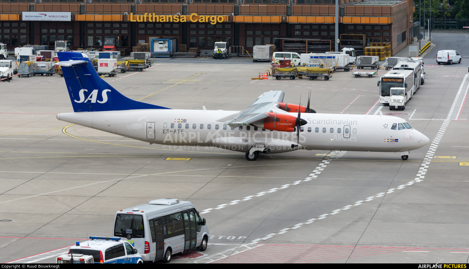 SAS - Scandinavian Airlines ES-ATE aircraft at Berlin - Tegel