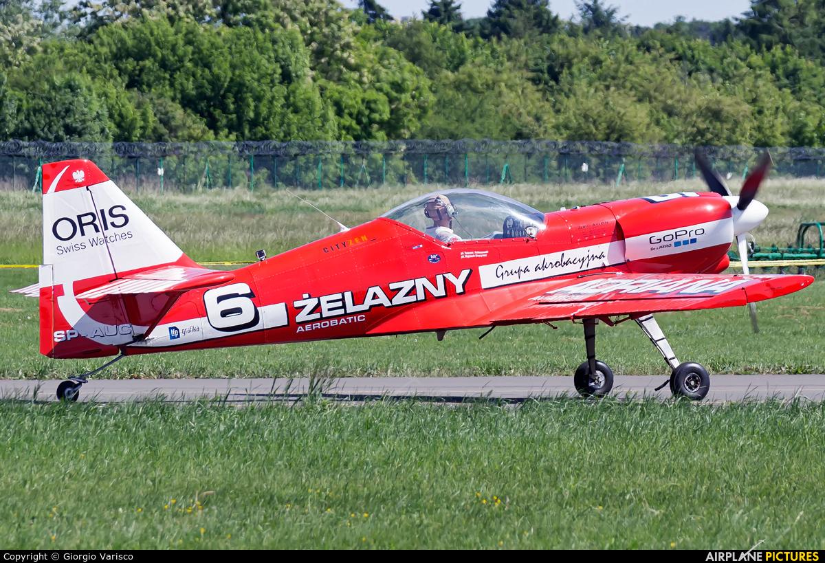 Grupa Akrobacyjna Żelazny - Acrobatic Group SP-AUC aircraft at Poznań - Ławica