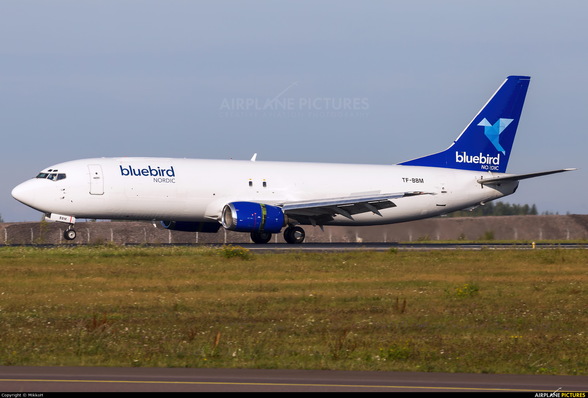 Bluebird Nordic TF-BBM aircraft at Helsinki - Vantaa