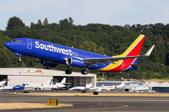N8544Z - Southwest Airlines Boeing 737-800