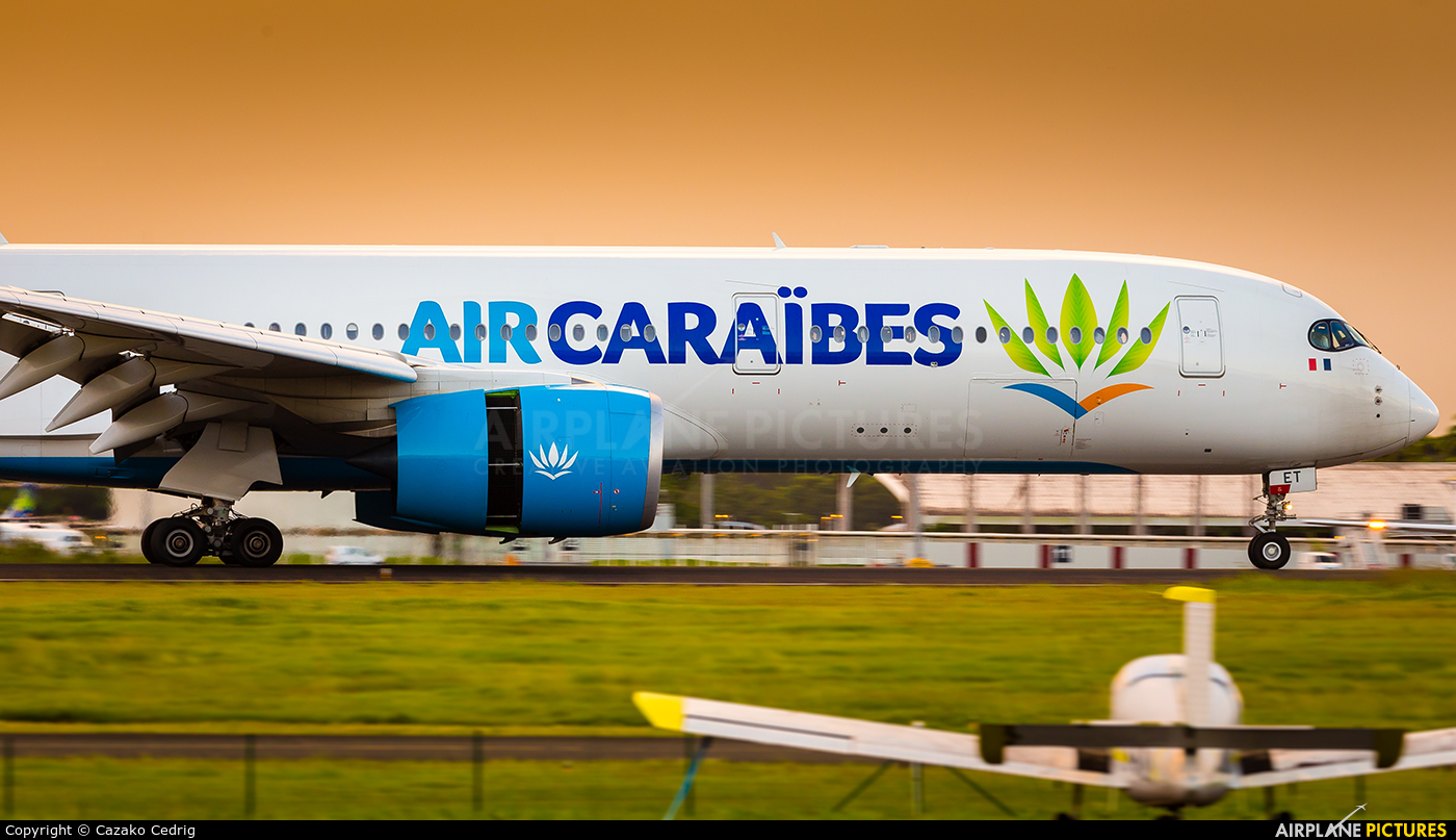 Air Caraibes F-HNET aircraft at Guadeloupe - Pointe-à-Pitre