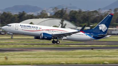 XA-MAL - Aeromexico Boeing 737-8 MAX