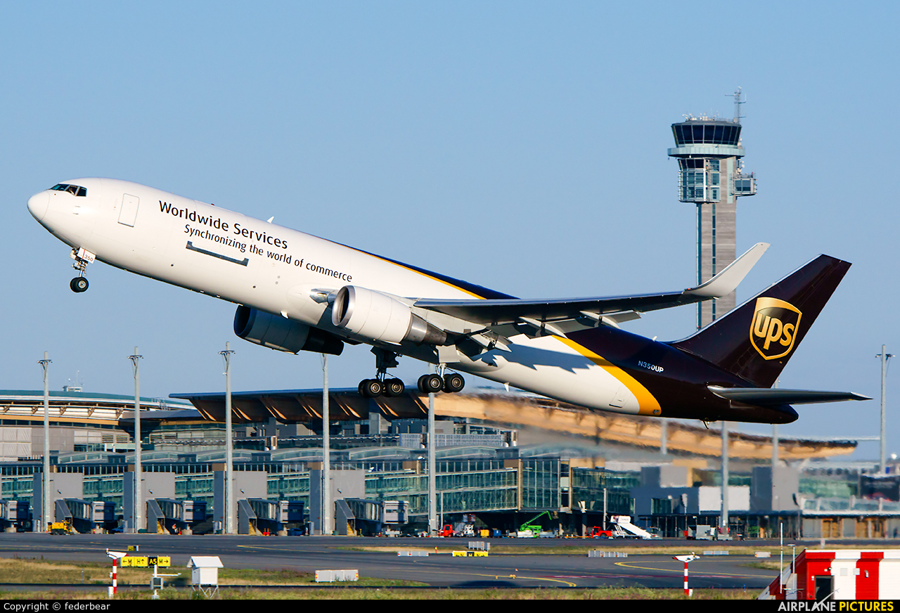 UPS - United Parcel Service N350UP aircraft at Oslo - Gardermoen