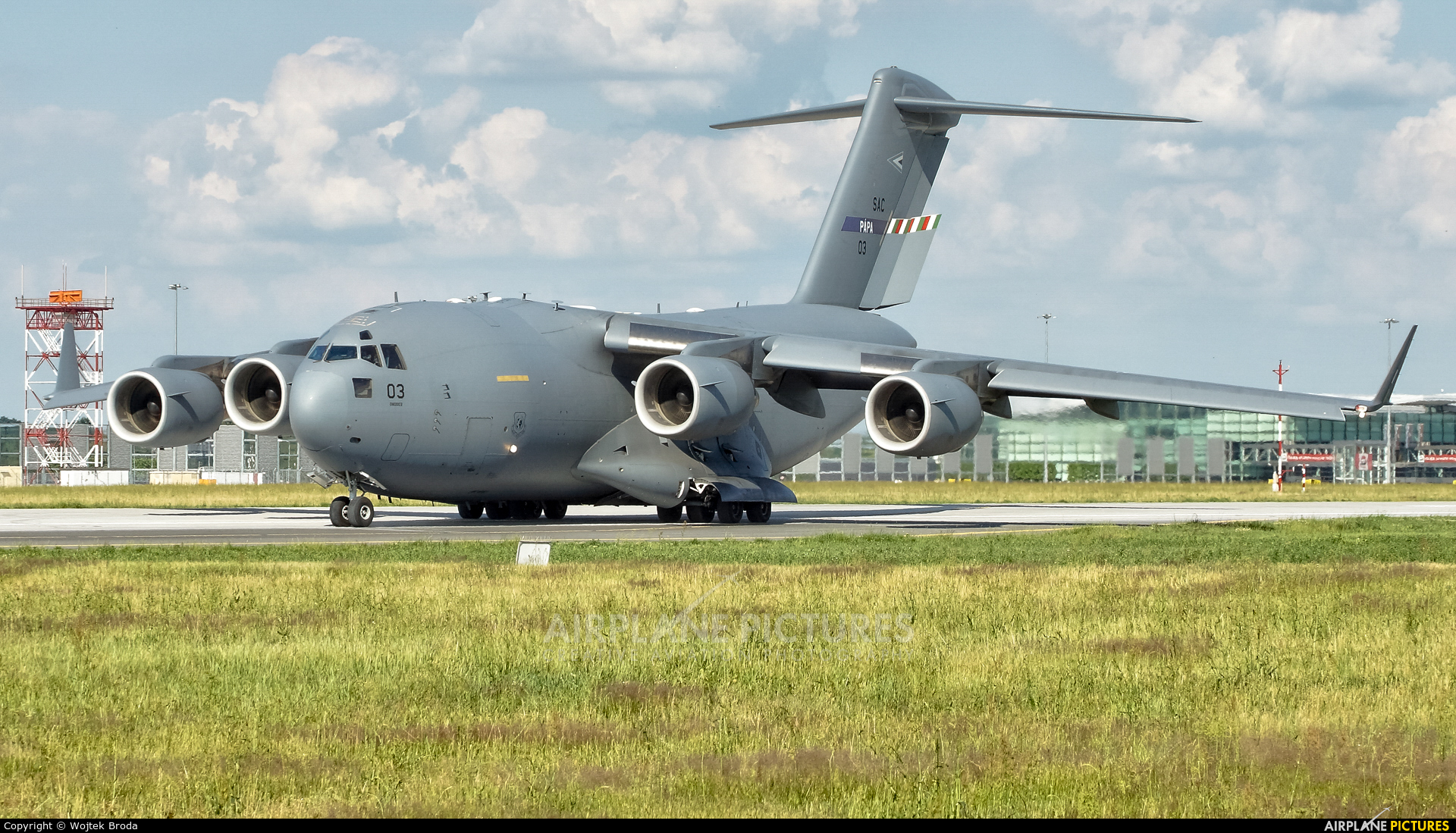 Strategic Airlift Capability NATO 08-0003 aircraft at Wrocław - Copernicus