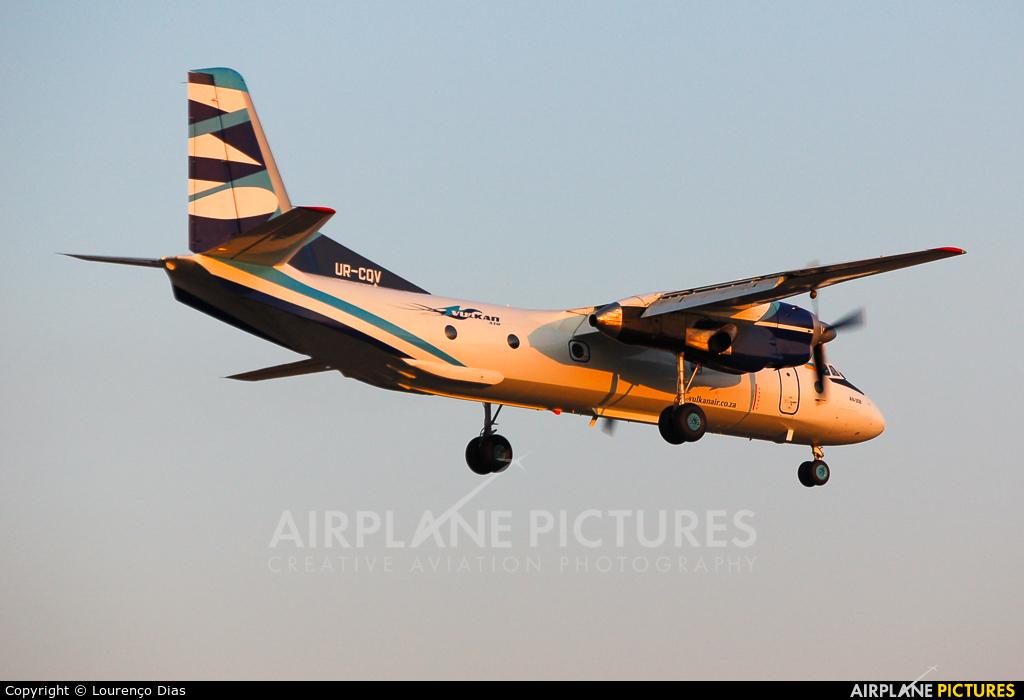 Vulkan Air UR-CQV aircraft at Porto