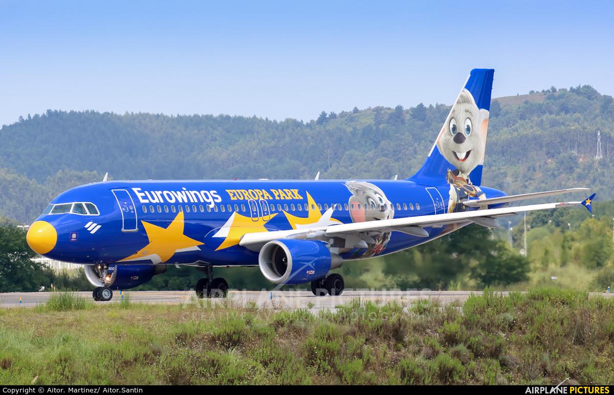 Eurowings D-ABDQ aircraft at Bilbao