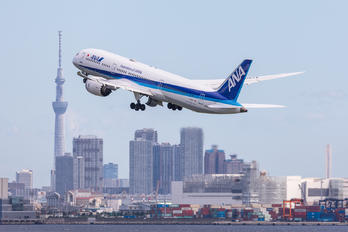JA887A - ANA - All Nippon Airways Boeing 787-9 Dreamliner
