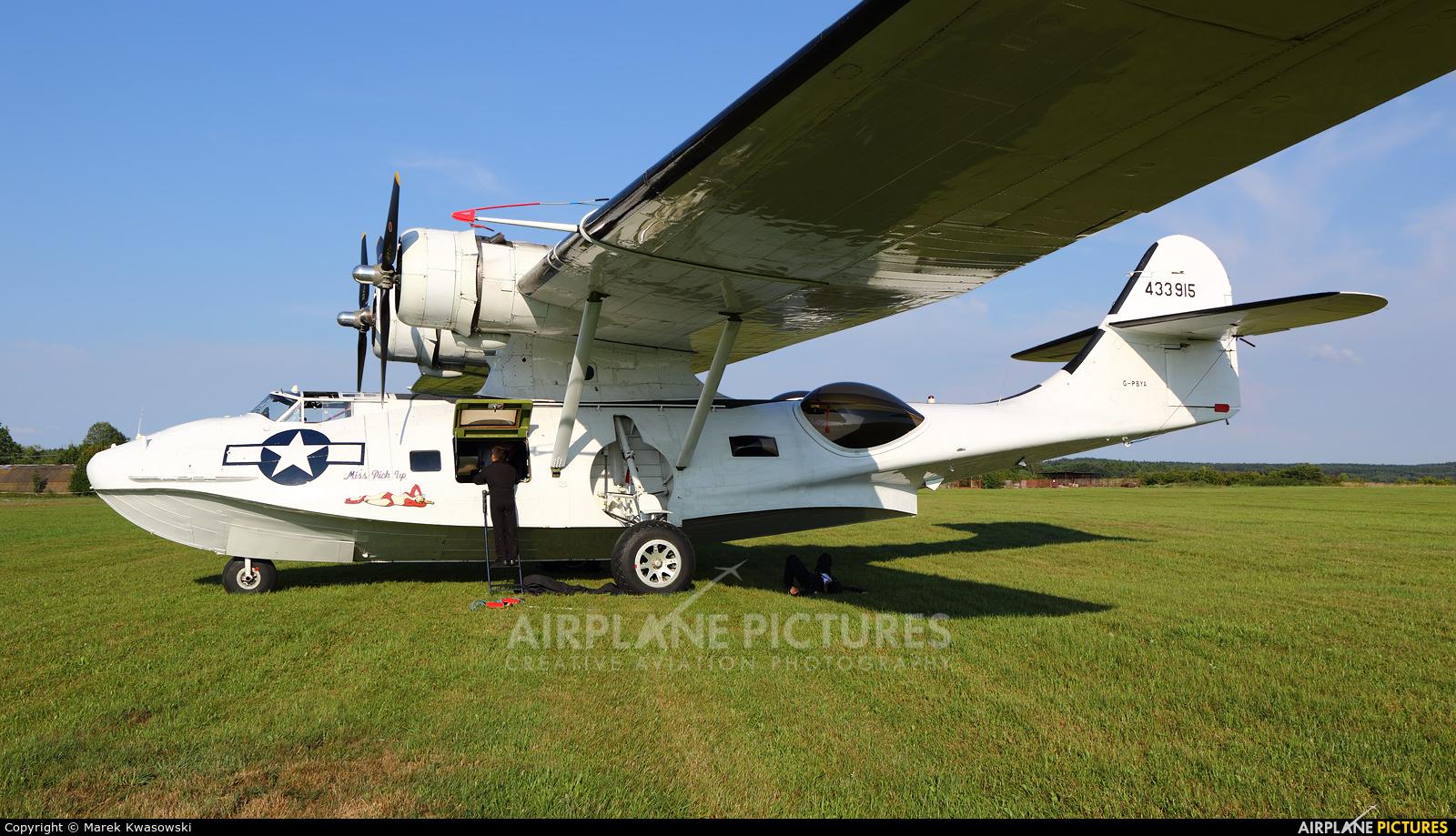 Catalina Aircraft G-PBYA aircraft at Kętrzyn - Wilamowo