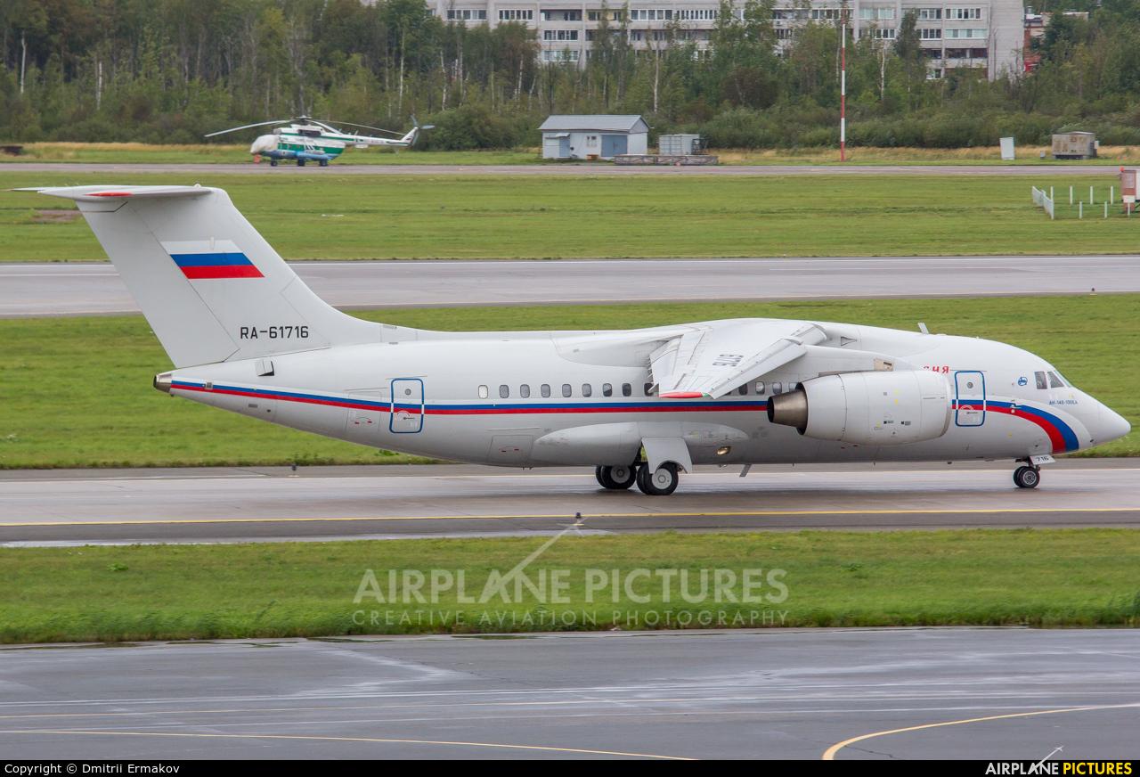 Rossiya RA-61716 aircraft at St. Petersburg - Pulkovo