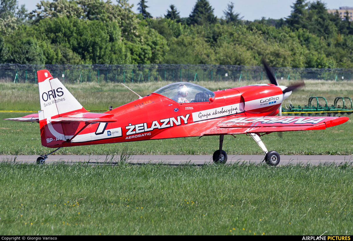 Grupa Akrobacyjna Żelazny - Acrobatic Group SP-AUD aircraft at Poznań - Ławica