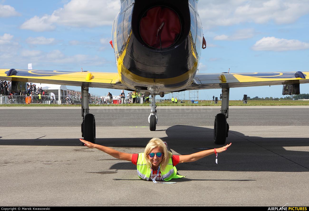 - Aviation Glamour YL-KSZ aircraft at Gdynia- Babie Doły (Oksywie)