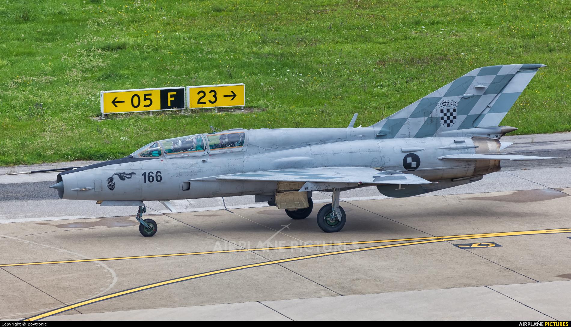Croatia - Air Force 166 aircraft at Zagreb