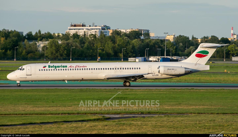 Bulgarian Air Charter LZ-LDK aircraft at Warsaw - Frederic Chopin