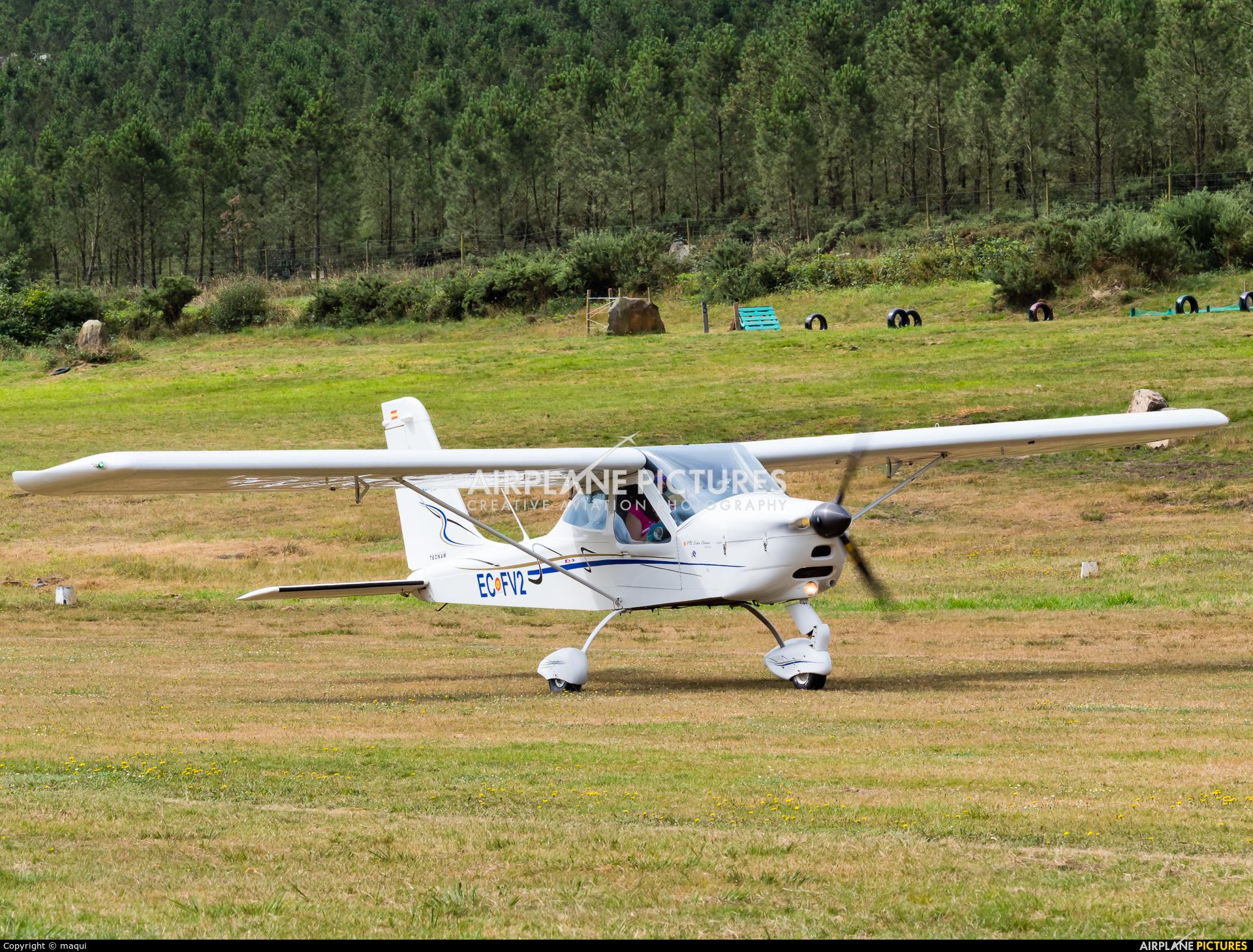 Private EC-FV2 aircraft at Fervenza