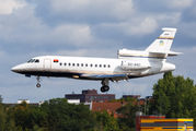 Angola Government Falcon 900 arrived to Berlin title=