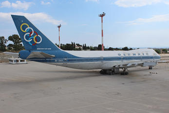 SX-OAB - Olympic Airlines Boeing 747-200