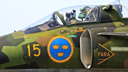 SE-DXO - Swedish Air Force Historic Flight SAAB SK 37 Viggen