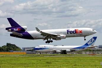 N621FE - FedEx Federal Express McDonnell Douglas MD-11F