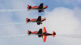 Royal Jordanian Falcons Extra 300 RJF-02 at Gdynia- Babie Doły (Oksywie) airport