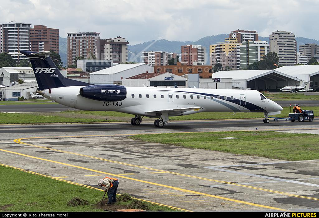 TAG - Transportes Aereos Guatemaltecos TG-TAJ aircraft at Guatemala - La Aurora