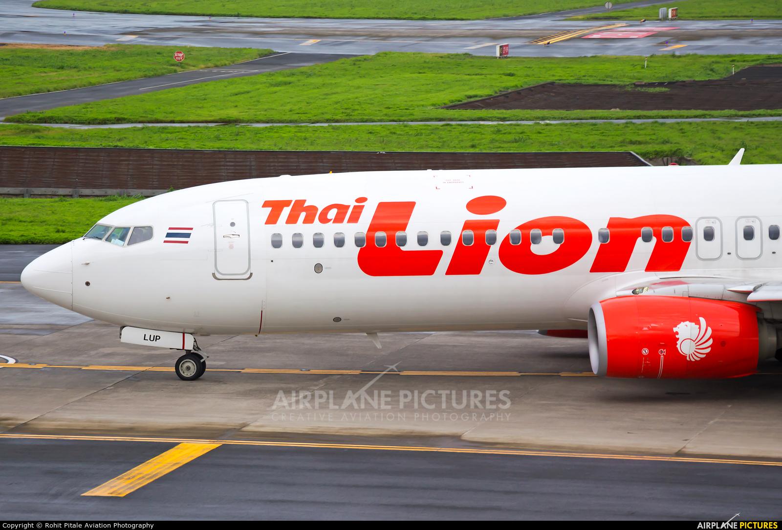Thai Lion Air HS-LUP aircraft at Mumbai - Chhatrapati Shivaji Intl