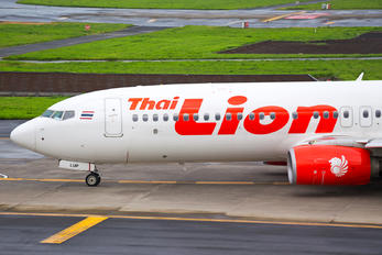HS-LUP - Thai Lion Air Boeing 737-800